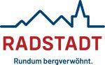Logo Radstadt Rundum bergverwöhnt - Schrift